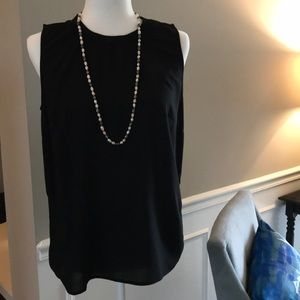 Pixley Pullover Black Top with necklace🎉🎉